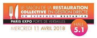 11 avril : Salon de la restauration collective en gestion directe