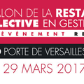 La 11e édition du Salon RESTAU'CO se tiendra le 29 mars