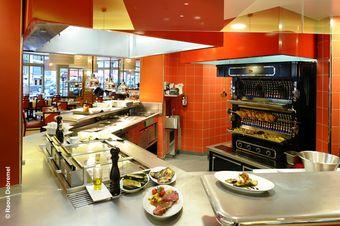 Le grand b 28e restaurant du groupe fr res blanc - Cuisine design rotissoire ...