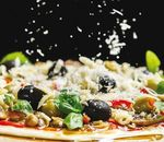 La pizza, chef de file de l'influence italienne