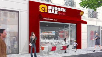 "Quick lance ""Burger Bar by Quick"""
