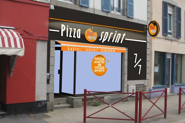 Pizza Sprint ouvre un magasin à Carhaix