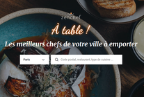 A Table !, la plateforme click&collect de Zenchef