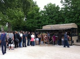 Amorino s installe aux tuileries for Kiosque jardin des tuileries