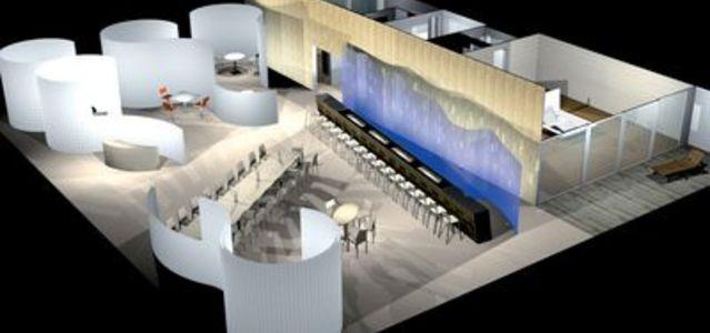 visions futuriste au sein du pavillon mobilier d co. Black Bedroom Furniture Sets. Home Design Ideas