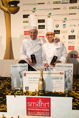 Philippe Brizet et Laurent Pizano en finale de l'International Catering Cup