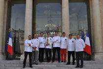 La Team France du Bocuse d'Or reçue à l'Elysée