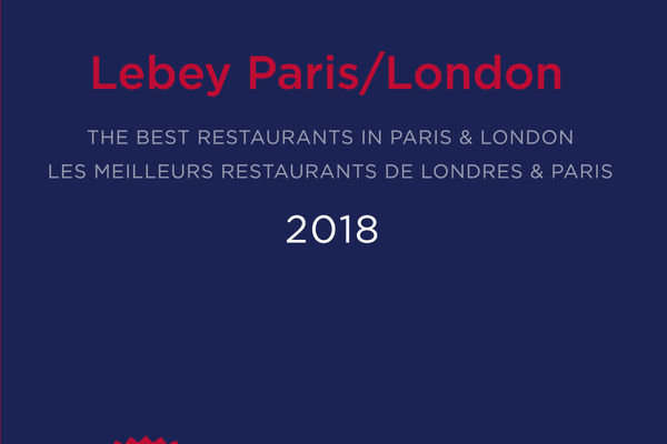 Sortie du Guide 2018 Lebey Paris-London!