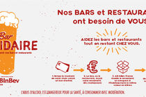 AB InBev France lance « Bar Solidaire »