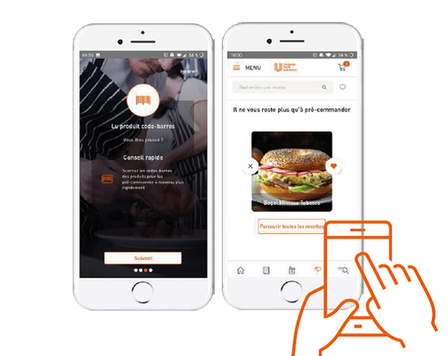 Unilever Food Solutions lance son application à destination des chefs