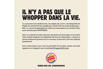 Burger King met son compte Instagram à disposition des restaurateurs